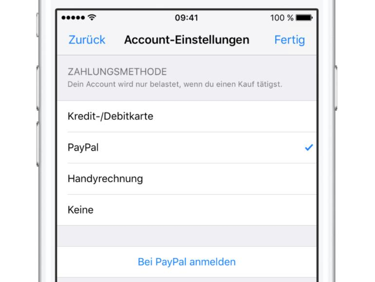 App Store, iTunes, Apple Music: Ab sofort via PayPal bezahlen