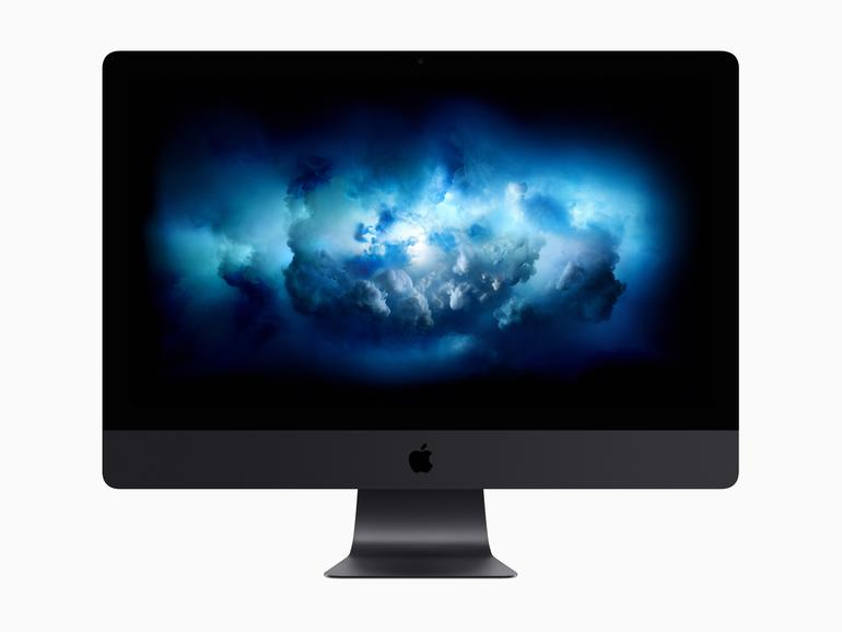 Der neue iMac Pro in Spacegrau