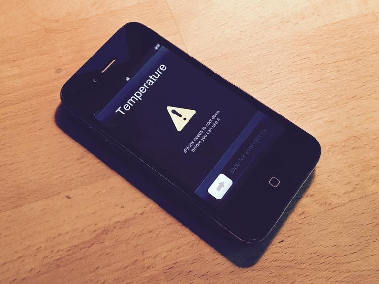 Ein solches iPhone 4s soll für den Brand verantwortlich sein.