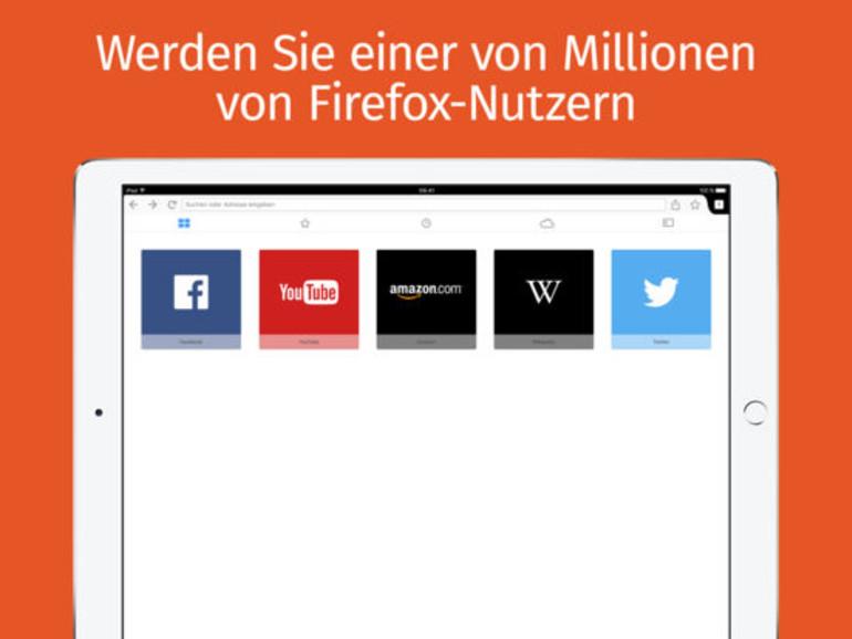 Firefox für iOS mit Nachtmodus und QR-Scanner