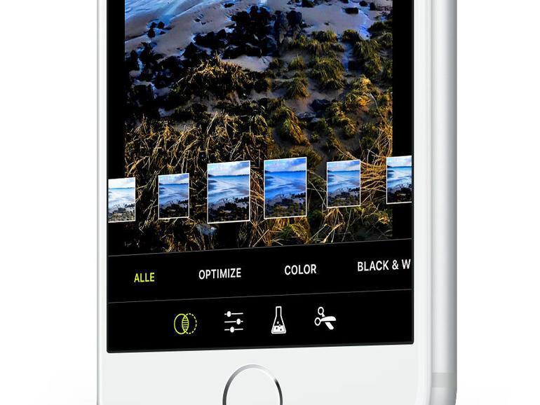 Viele Kamera-Apps wie hier ProCamera bieten Bearbeitungsmöglichkeiten.