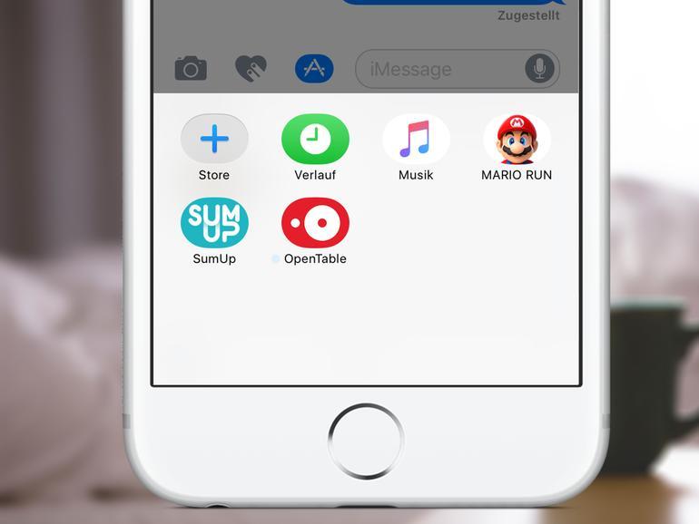 So nutzen Sie die App-Erweiterungen in iMessage