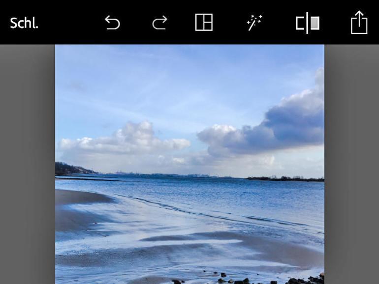 verpixelte bilder schärfen app