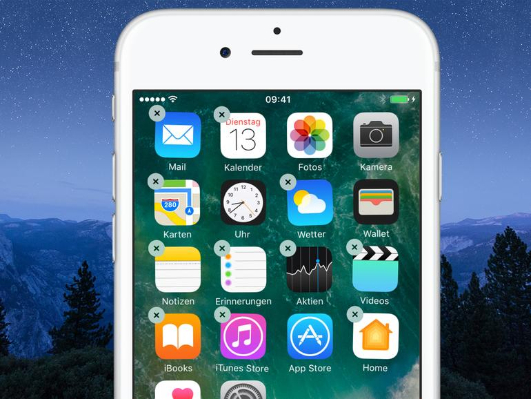 App zum Ausblenden von Apps im iPhone