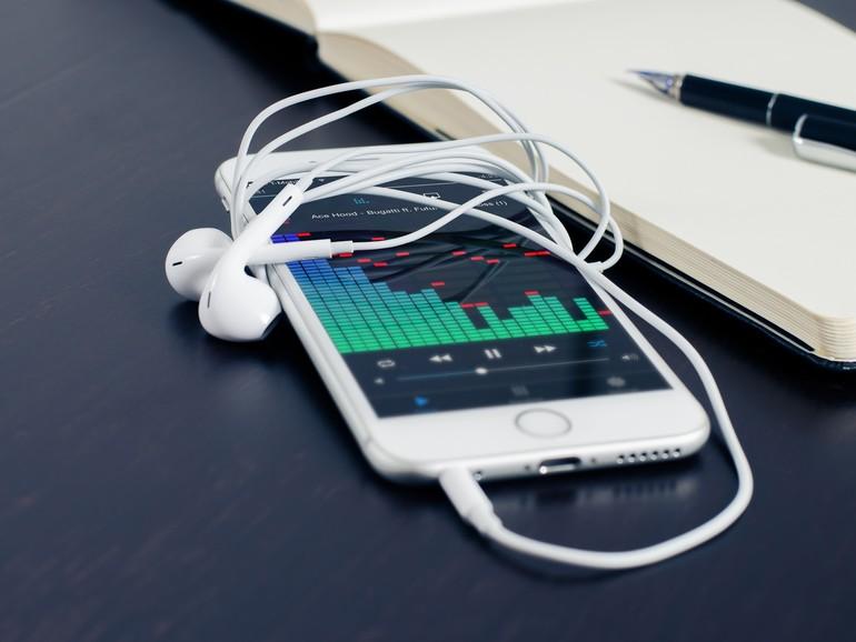 Man kann den Musikspeicher nur für die integrierte Musik-App begrenzen