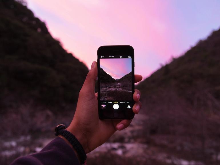 Mit dem iPhone kann man großartige Fotos und Videos aufnehmen
