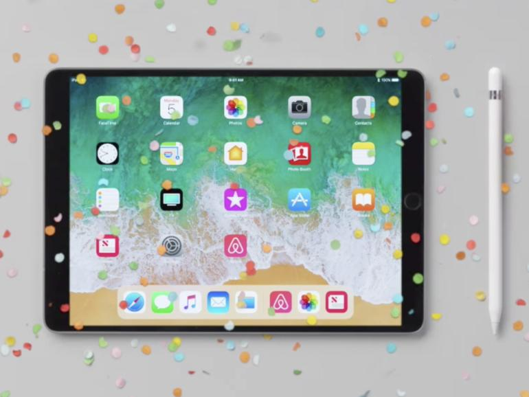 IOS 11: Apple demonstriert neue iPad-Funktionen