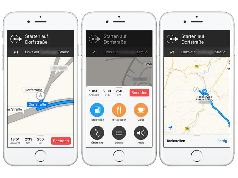 Karten-App am iPhone: Sonderziele entlang der Route festlegen | Mac Life
