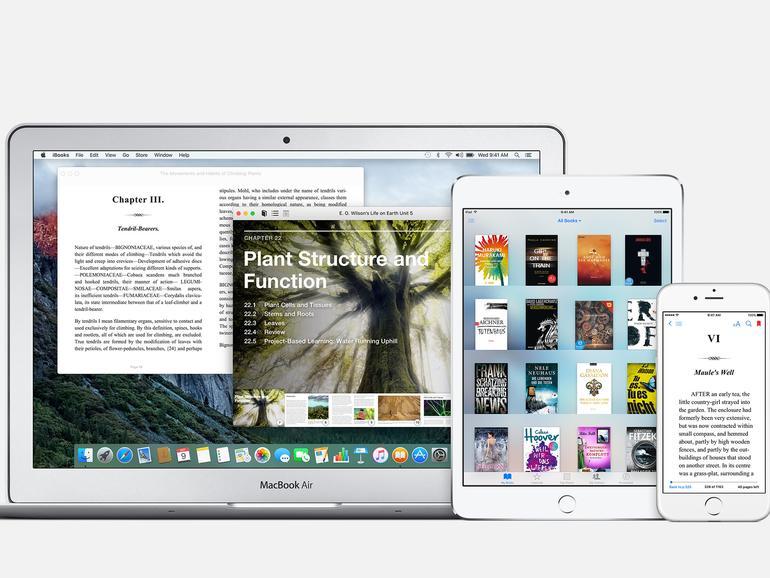 iBooks lassen sich ganz einfach synchronisieren