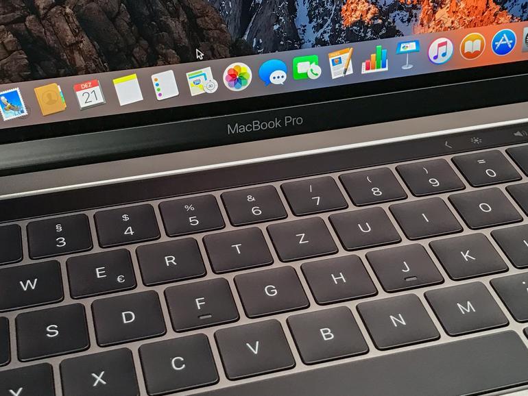 Die Touch Bar ist eine tolle Ergänzung beim MacBook Pro