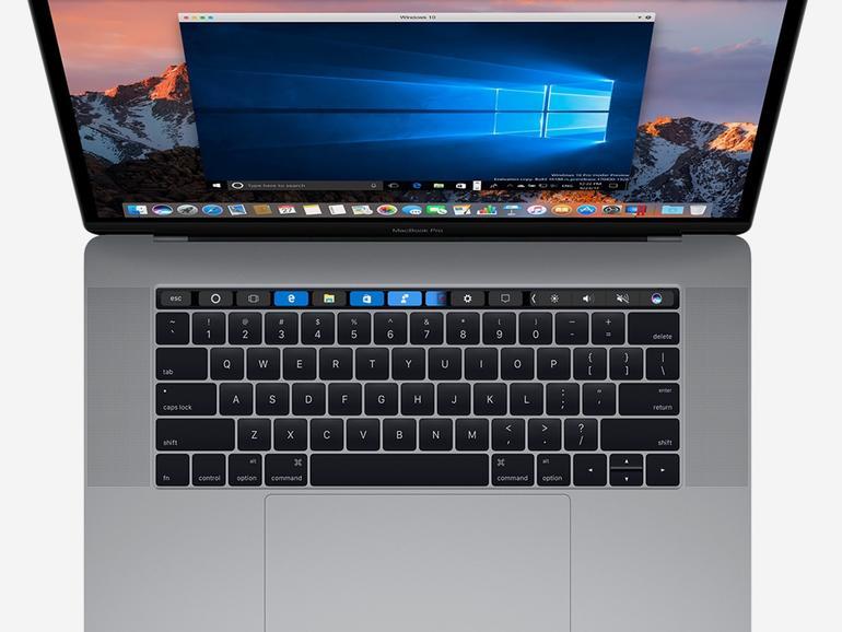 Parallels Desktop 13 mit Touch-Bar-Support