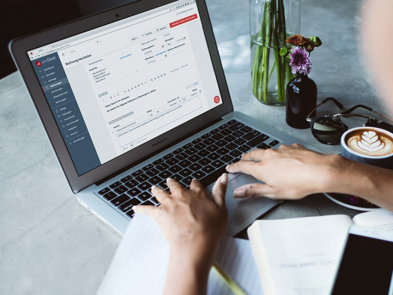 Buchhaltung am Mac mit sevDesk