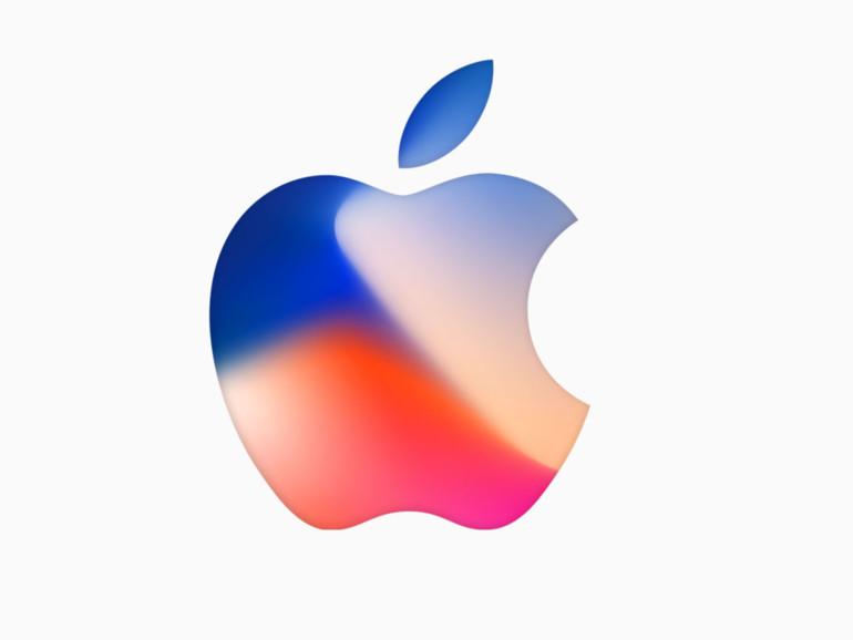Die Einladung von Apple ist für alle Wallpaper die Vorlage.