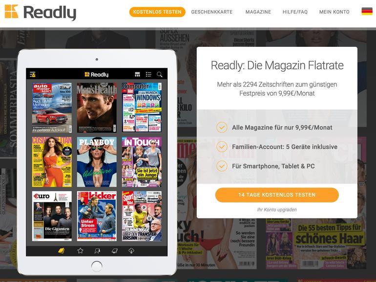 Readly: Das Spotify für Zeitschriften jetzt zum Mac-Life-Sonderpreis ausprobieren