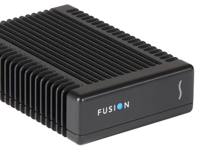 Das neue Fusion Thunderbolt 3 PCIe Flash-Laufwerk bietet 1 TB Speicherplatz