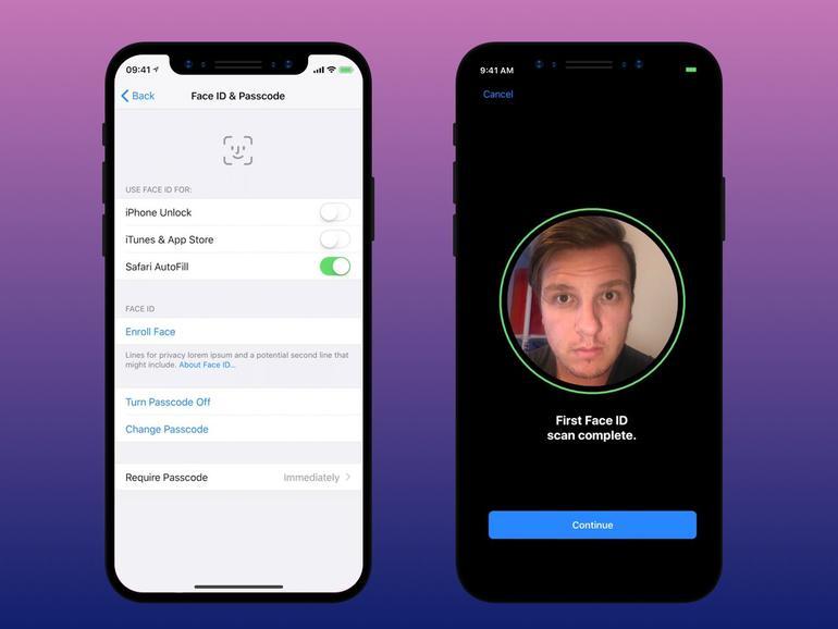 Face ID lässt sich wahrscheinlich auch für Apple Pay nutzen.