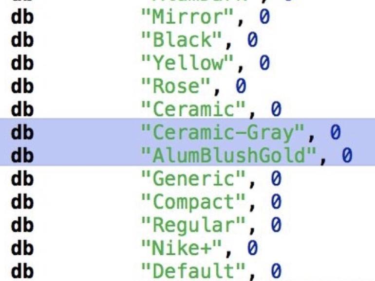 Im Code von iOS 11 stecken Hinweise auf neue Farben für die Apple Watch