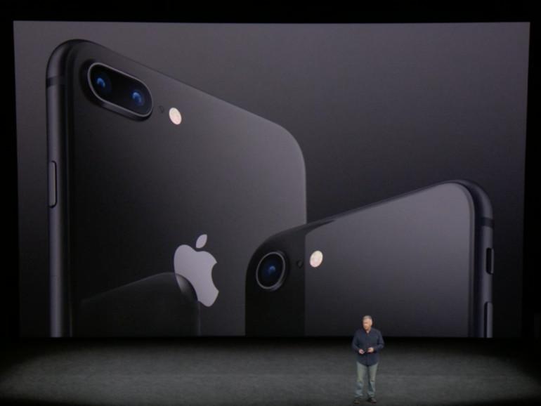 iPhone 8 und iPhone 8 Plus in Schwarz
