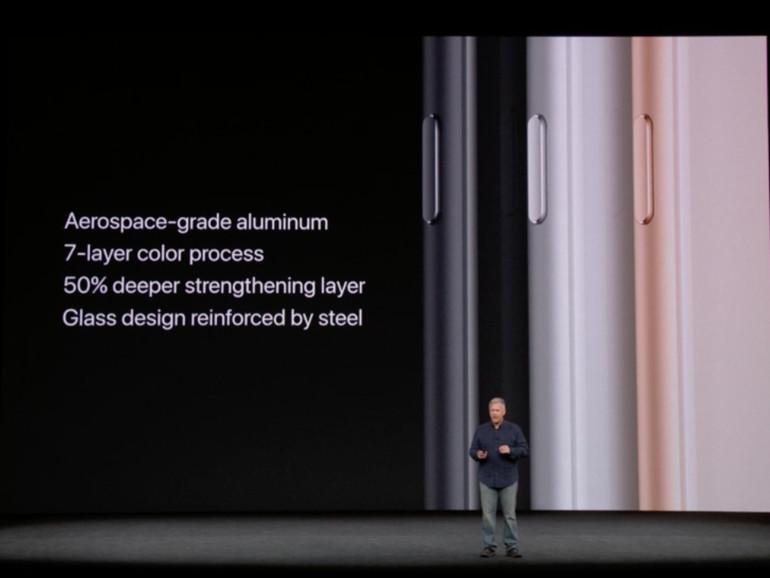 Das iPhone 8 ist robuster als bislang