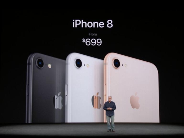 Das iPhone 8 bekommen Sie ab 699 US-Dollar