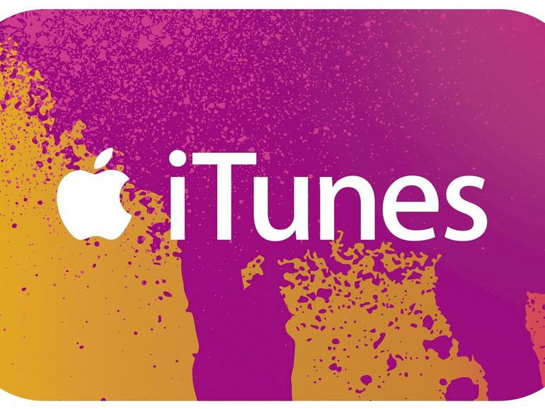 iTunes-Guthabenkarte