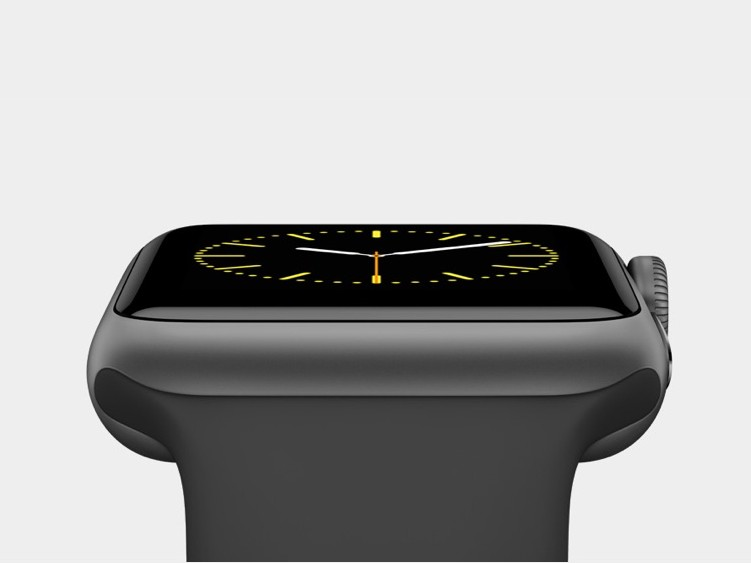 Apple Watch in Spacegrau