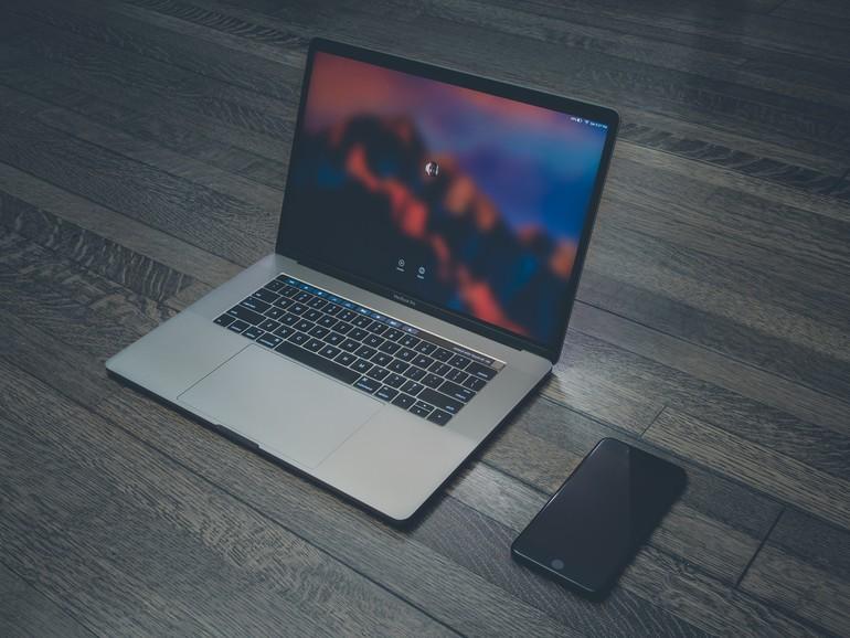 Das MacBook Pro besitzt seit 2016 eine Touch Bar mit Fingerabdrucksensor