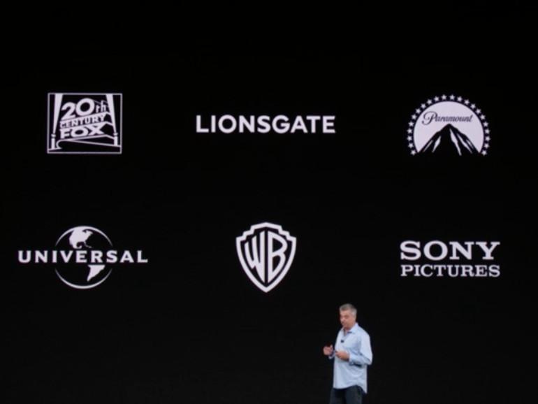Hollywood liefert 4K-Inhalte für Apple