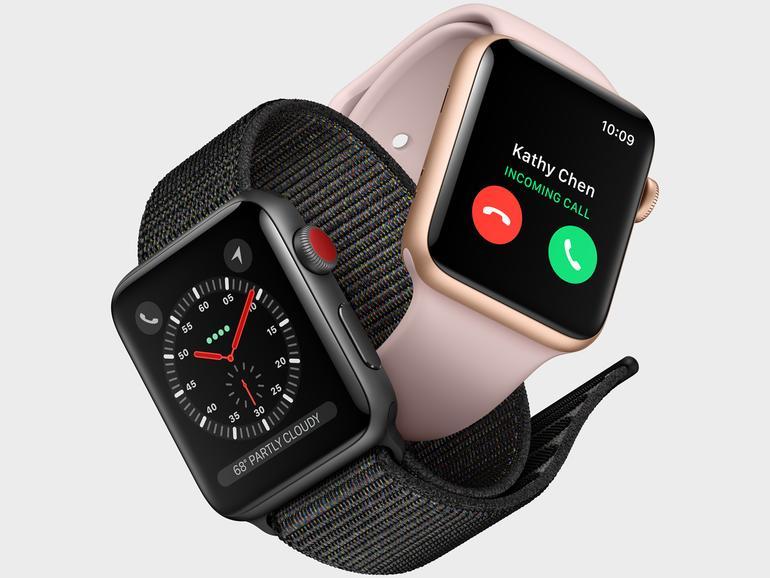Apple Watch Series 3 jetzt mit LTE und UMTS