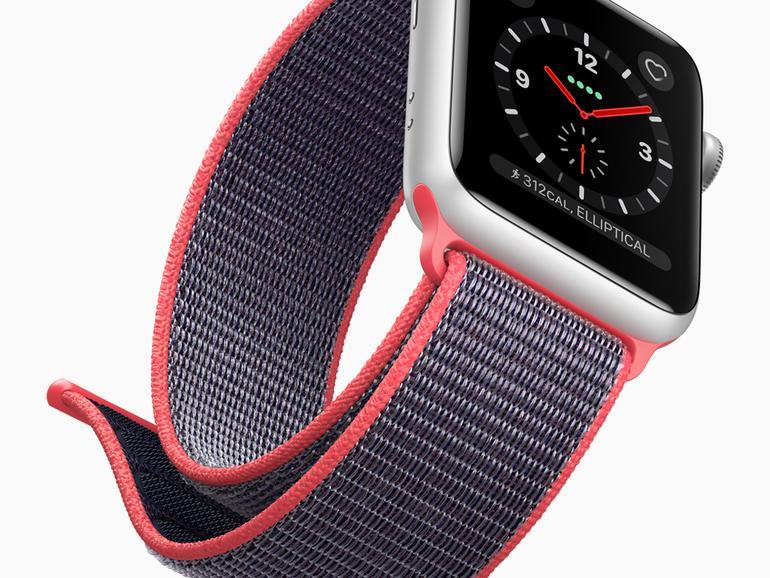 """Die neuen """"Sport Loop"""" Nylon-Armbänder mit Klettverschluss für die Apple Watch"""