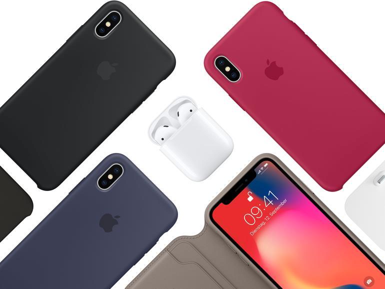 Apple sorgt bereits zum Verkaufsstart für viel Zubehör