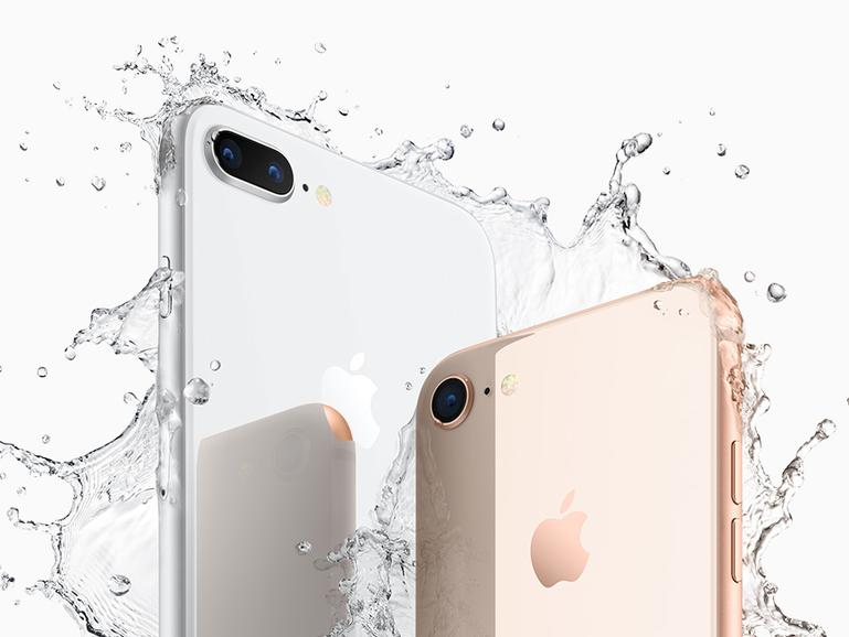 Das iPhone 8 und iPhone 8 Plus sind wieder wasserdicht