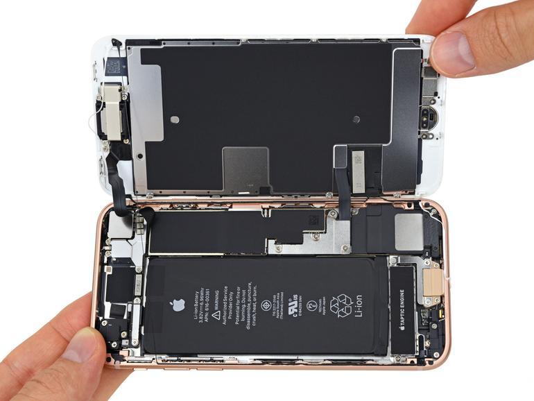Das iPhone 8 lässt sich genauso öffnen wie das iPhone 7