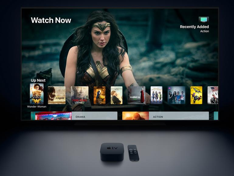 Das Apple TV 4K kann jetzt auch hochauflösende Inhalte wiedergeben