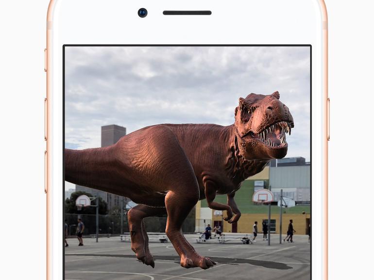 Dinosaurier auf den Basketball-Platz zaubern Sie mit Monster Park: Dinosaurier Welt