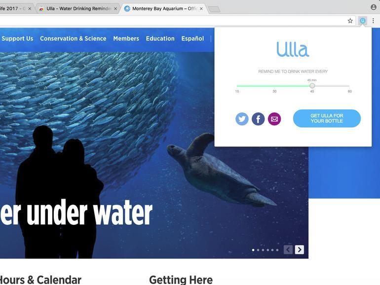 Ulla – Water Drinking Reminder