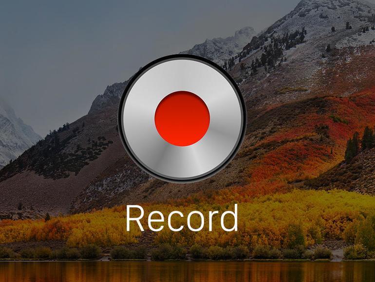 Den Bildschirminhalt aufzeichnen am Mac