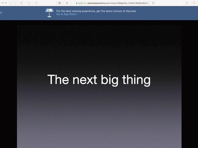 Keynote erklärt: Präsentieren wie einst Steve Jobs - so geht's