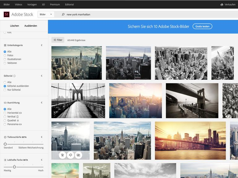 Adobe Stock: Mehr aus dem Bilderdienst herausholen - so geht's!
