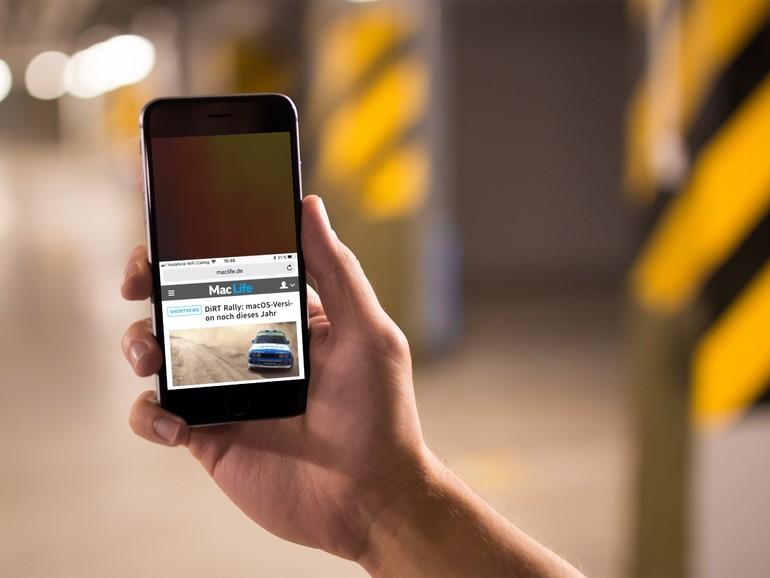 Bei den großen iPhone-Modellen ist die einhändige Bedienung kaum noch möglich