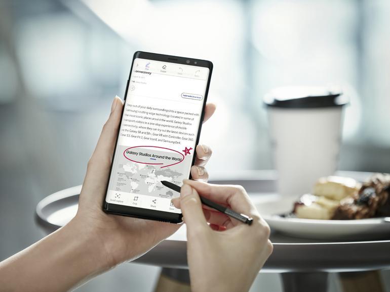 Das Galaxy Note 8 macht Samsung Freude