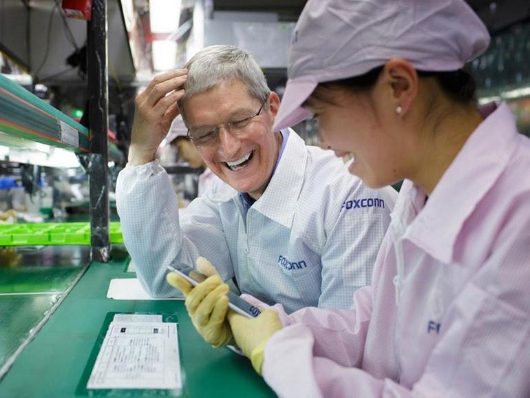 Auch die iPhone-Produktion von Foxconn wäre von einem Produktionsstop bedroht