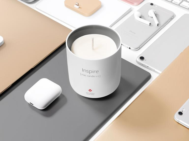 Inspire, die Mac-Kerze Nummer 2
