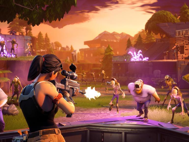 Screenshot aus Fortnite