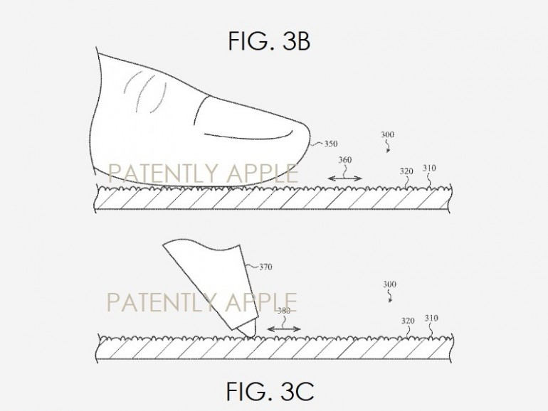 Die Oberfläche würde sich bei Finger und Apple Pencil unterschiedlich verhalten