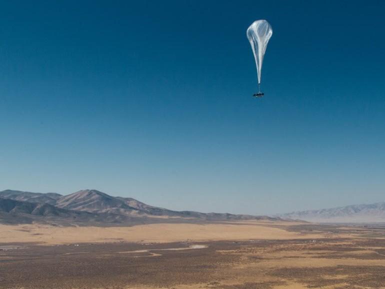 Ein Loon-Ballon auf dem Weg von Nevada nach Puerto Rico