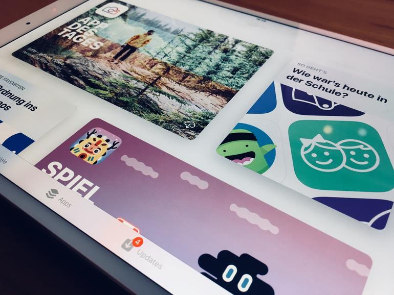 App Store in iOS 11 auf dem iPad