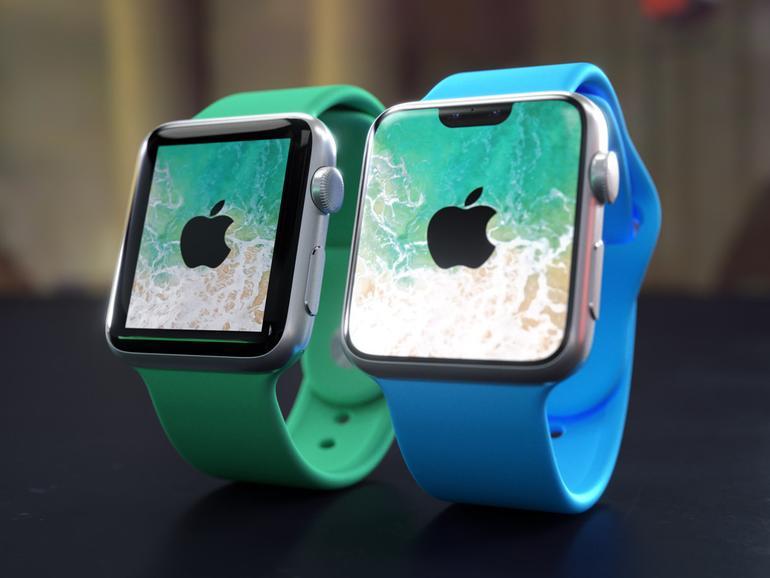 Könnte so eine Apple Watch mit Face ID aussehen?