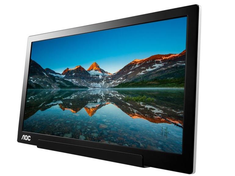 Für unterwegs: AOC bringt tragbares USB-C-Display auf den Markt
