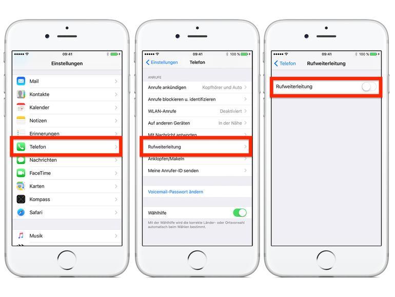 iphone text weiterleiten geht nicht